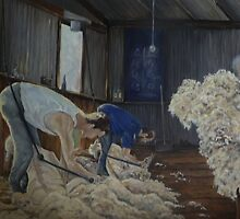 Boxing Day Shearers by Diko