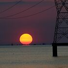 Sunset - Over Lake Pontchartrain by Eric Webb
