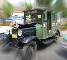 1931 Model A Mail Truck by Bob Hortman