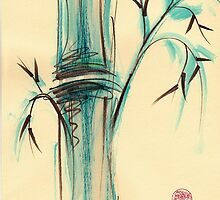 Peaceful Bamboo by Rebecca Rees