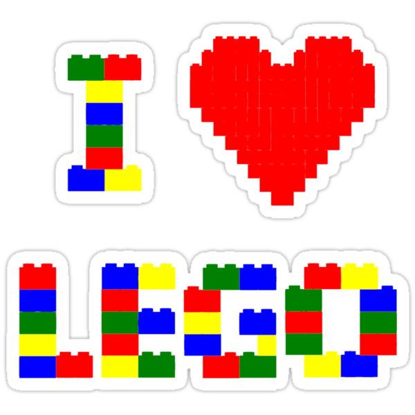 I Heart Lego by edgedonkey