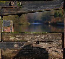 Vignette through the lock gate - Stratford canal, England by MigBardsley