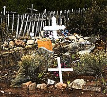 Church Yard at Golden, New Mexico by gcampbell