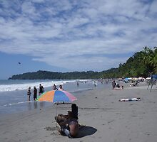 Manuel Antonio Beach by TJ Trubert