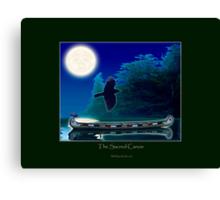 The Sacred Canoe Canvas Print