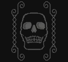 Skull and Cross Stitch by Matt Simner