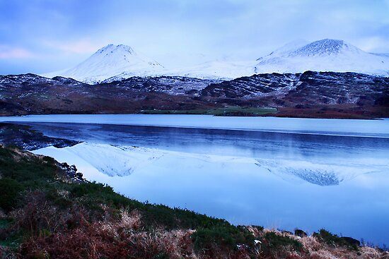 snowy mountains-Kerry by Pascal Lee