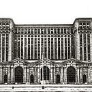 Michigan Central Depot by James Howe