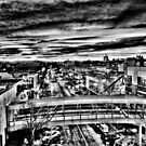Downtown Salem Oregon by pdsfotoart