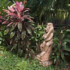 Garden detail, Marriot Resort, Bangkok by johnrf