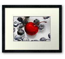 Cherry Berries Framed Print