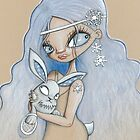 snowshoe hare by: kate lightfoot  www.scarlettcat.blogsp by artists4wildlfe