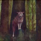 Wolf in the Woods by Laurie Miller