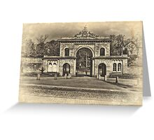 Corporation Park Greeting Card