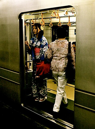Another Day on the Subway by Valerie Rosen
