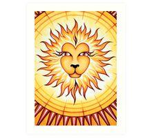Leo  - shine your light into the world! Art Print