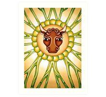 Taurus - take the bull by it's horns! Art Print