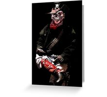 Soldier Of The Underworld Greeting Card