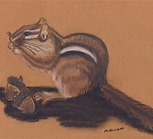 Chipmunk by Marsha Elliott