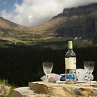 Wine Break - Glacier National Park by James Farnan
