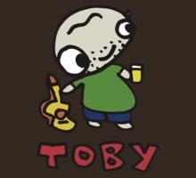 Toby Robinson Fan Club Official T-Shirt by kris keogh
