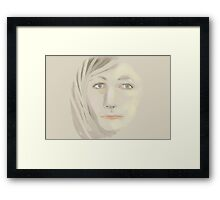 Subdued Framed Print