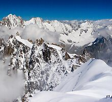 Mt Blanc Massif by parischris