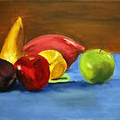 Fruit_2, 18 x 14 Acrylic Painting by csoccio100
