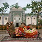 Abakh Hoja Tomb and camel - Kashgar by Speedy