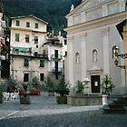 Airole, Ligura, Italy, the piazza by BronReid