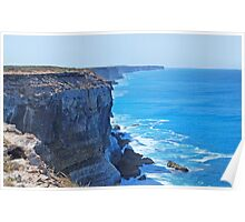 Bunda Cliffs, The Great Australian Bight, South Australia Poster