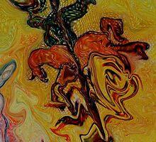 Sant Jordi, Saint George, San Jorge by Sabine Jacobsen [SJArt]