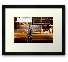 Paddy's Taxi Framed Print