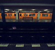 U-Bahn, Berlin by Leo Shum