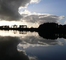 "Knockaderry Reservoir ""Reflections""Co.Waterford No.2. by Pat Duggan"