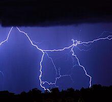 Lightning Gates Striking by Bo Insogna