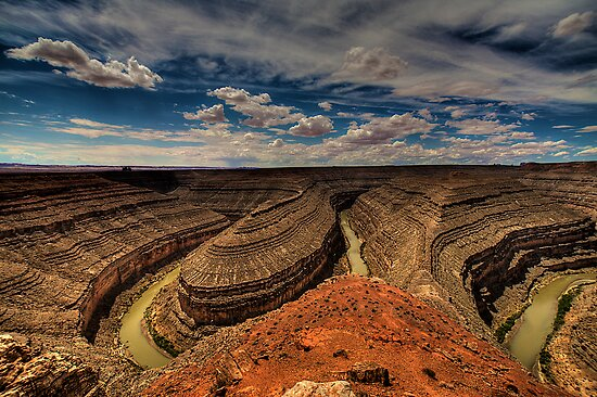 Goosenecks of the San Juan River by njordphoto