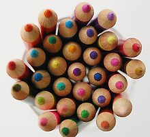 colourful pencils by angimoo