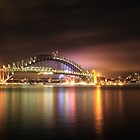 Night @ Harbour Bridge, Sydney by Amit Ambardar