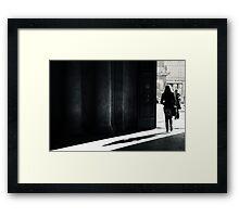 The Shadow - Arles, France - 2010 Framed Print