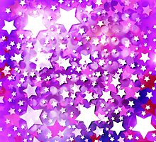 Abstract Digital Stars by queensoft