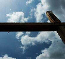 San Antonio Mission Cross by Seth Hanon
