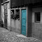 The Turquoise Door by Pilot Graphics Photography