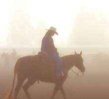 Misty Morning RIde by Heather Haderly