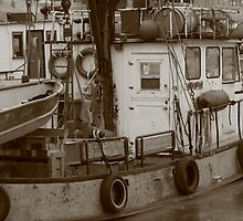 Old Boating by Lynn  Gibbons