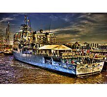 Boston Navy Yard Photographic Print
