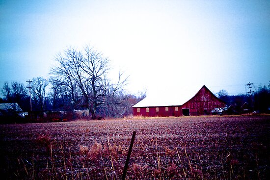 RED BARNS ARE STILL IN STYLE! by Pauline Evans