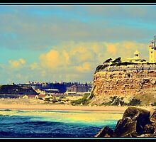 Nobby's Lighthouse by kimsol