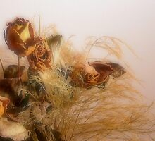 Dried Wedding Flower Still Life by Rick Stockwell