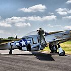 "P-51 MUSTANG ""JANIE"" by Nick Barker"